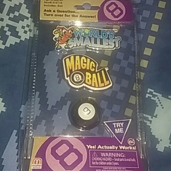 Unbranded Other Worlds Smallest Magic 8 Ball Poshmark